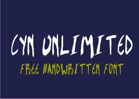 CYN Fonts: CYN_Unlimited