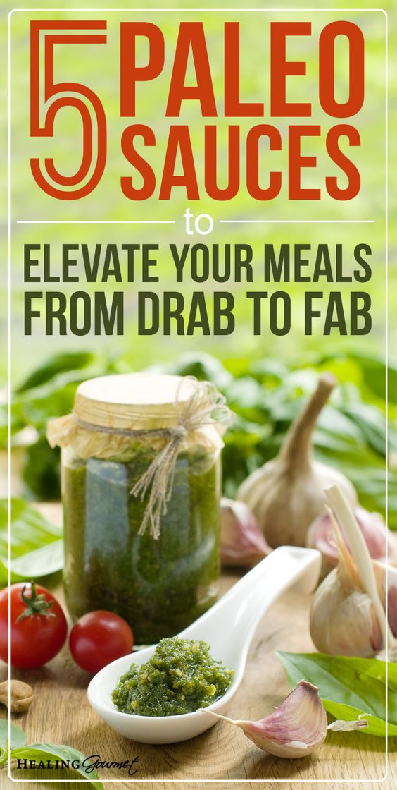 Paleo meals getting a little ho-hum? Add some pizazz to your meals with these 5 super-simple, low-carbPaleo Sauces.