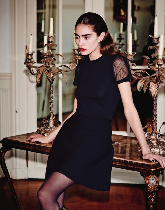 Marine Deleeuw by Serge Leblon for Bergdorf Goodman Magazine Pre Fall 2014 12