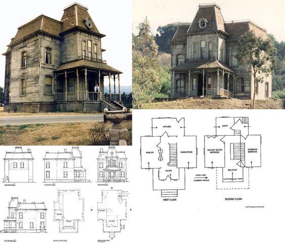 Psycho House Halloween Pinterest House