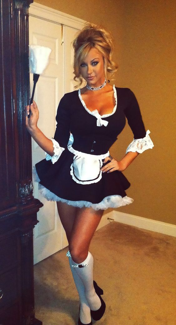 Love the French Maid look:
