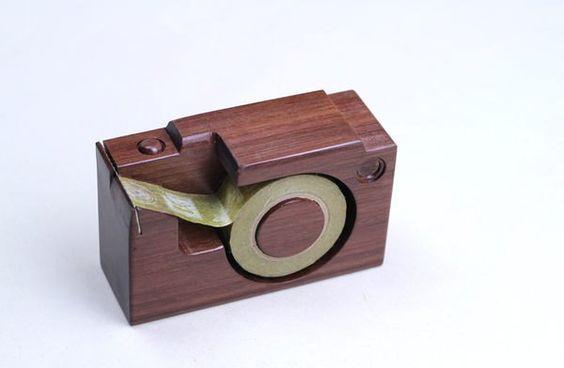 手工木製微型相機▣ mt 膠台 - 孩在 | Pinkoi