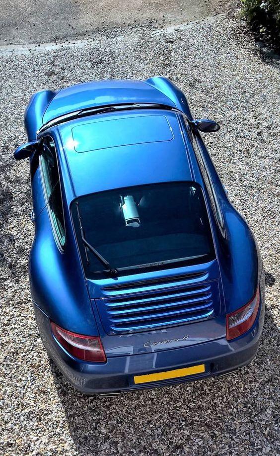 Cobalt blue does look stunning in the sunlight...   #porsche