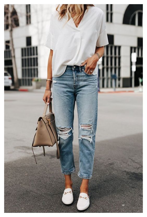 Look perfeito com calça jeans para arrasar.