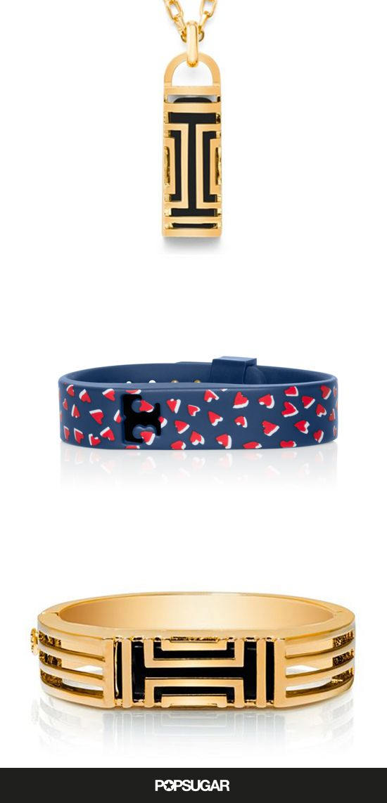 This Tory Burch and Fitbit makes a perfect Valentine's Day gift!