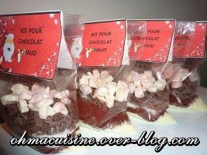Sachets no l and articles on pinterest - Cadeau gourmand fait maison noel ...