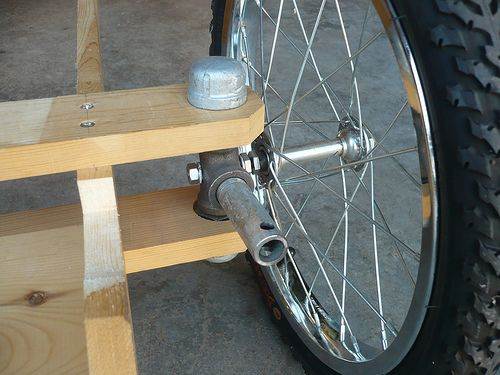 Diy Pedal Car : The front wheels and projects on pinterest