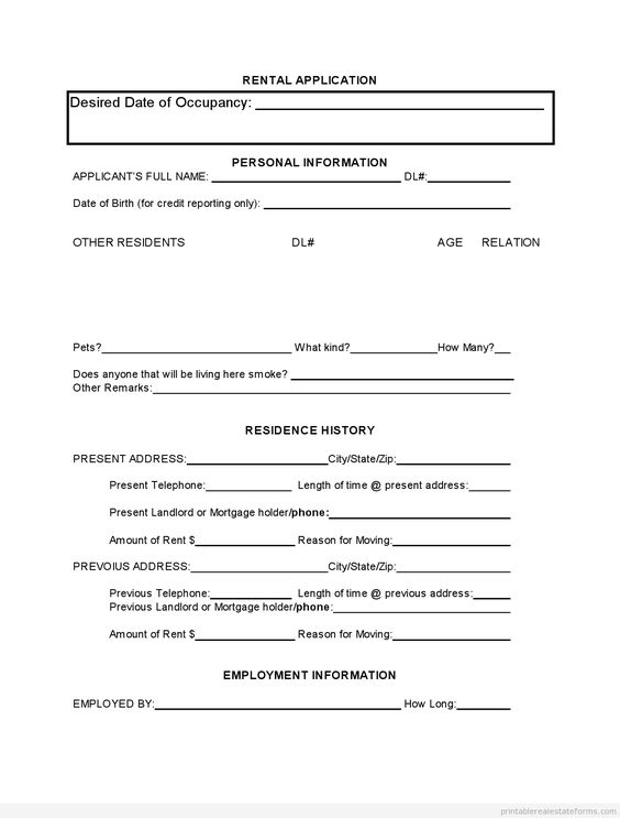 Sample Printable short credit application Form Printable Real - sample credit application