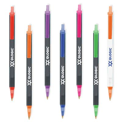 Bic® Clic Stic® Ice / 9526 FREE Set-Up, $55 Savings! Translucent pen with frosted grip and trim! As low as: $0.40