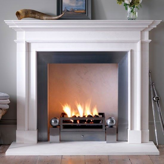 Burlington by Chesney's | Fire surrounds - 10 of the best | Fireplaces | Heating | PHOTO GALLERY | housetohome.co.uk
