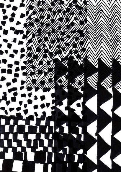 black and white desing
