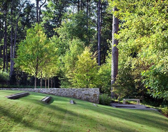 2014 ASLA住宅设计杰出奖 Woodland Rain Gardens: