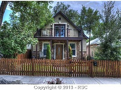 So cute! Central Colorado Springs Home For Sale
