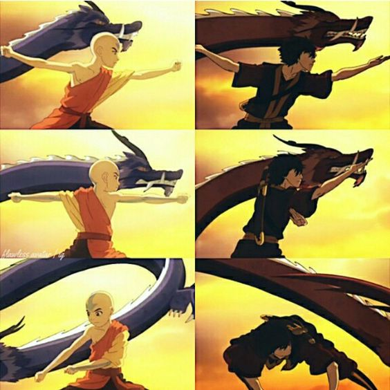 Aang and Zuko - YouTube