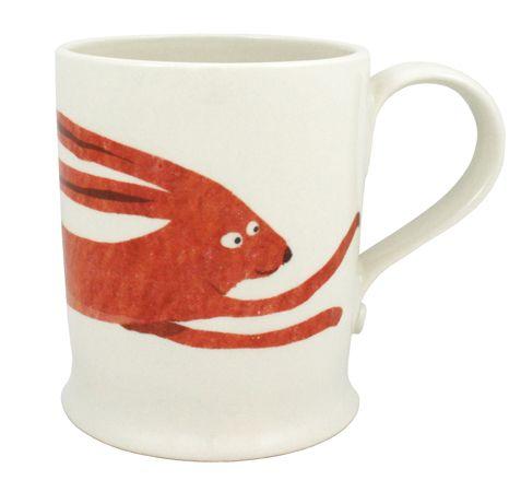 Fenella Smith hare mug