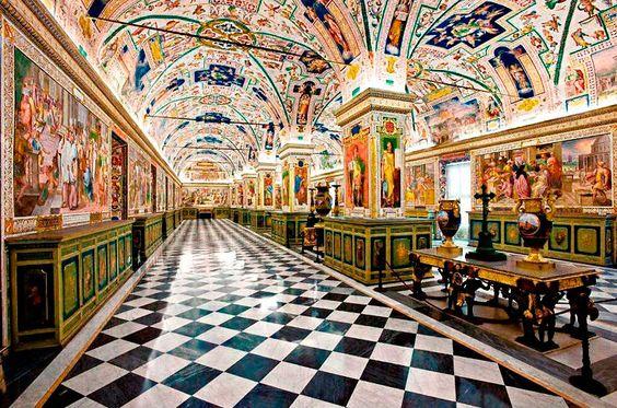 Biblioteca apostolica vaticana Salone Sistino