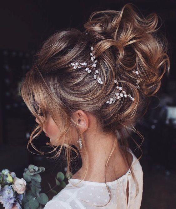 32 Peinados Recogidos Comodos Faciles Y Elegantes Peinados Con Pelo Recogido Peinado De Novia Recogidos Cabello De Novia
