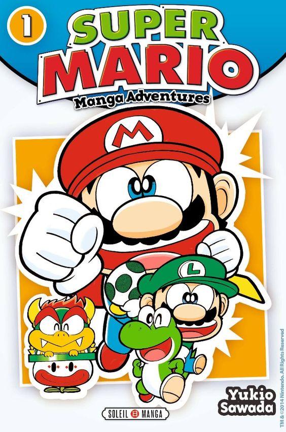 Couverture de Super Mario - Manga Adventures -1- Tome 1