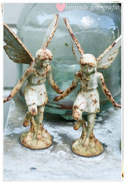 Rusty Cast Iron Fairies! I'd Love To Stumble Across These