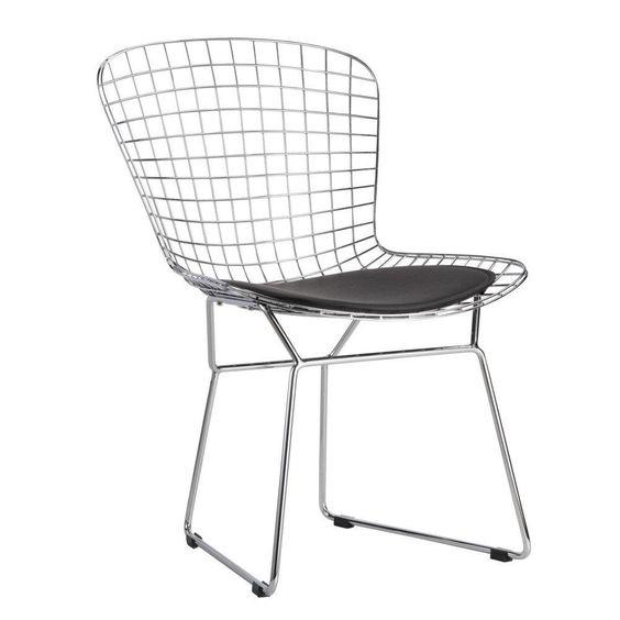 Modern wire dining chair #bertoia #wirechair