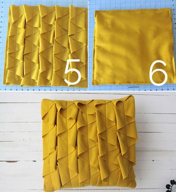 DIY decorative throw pillows sewing tutorial - It's Always Autumn
