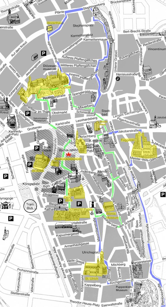 Location of Augsburg Germany Map See more at – Germany Map Location