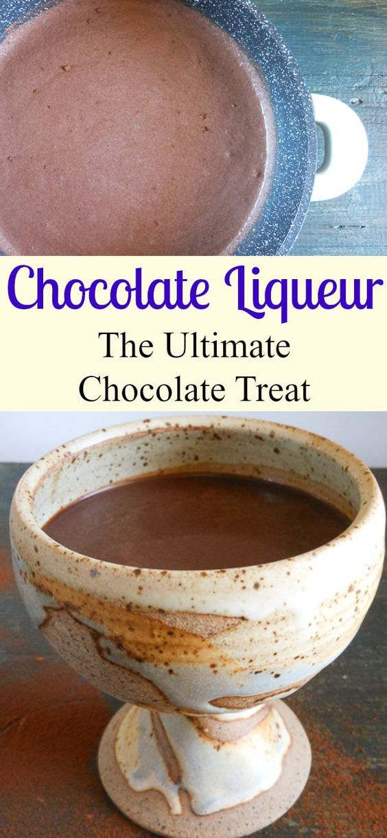 Chocolate Liqueur, deliciously easy homemade creamy chocolate liqueur ...