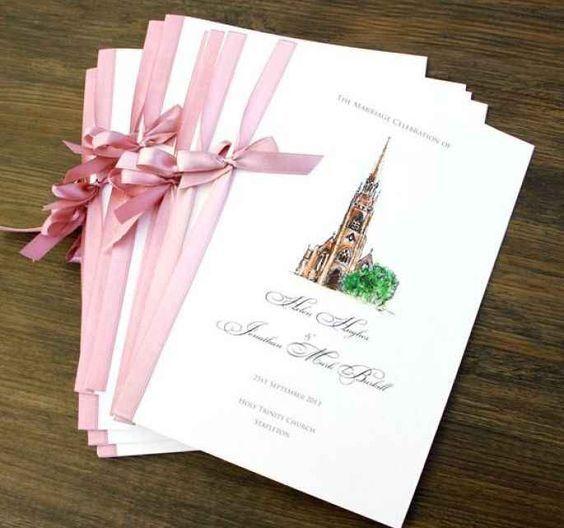 Matrimonio Libretto Messa Sposi Cartoleria Per Matrimoni Libretto Matrimonio Cerimonie Matrimoniali