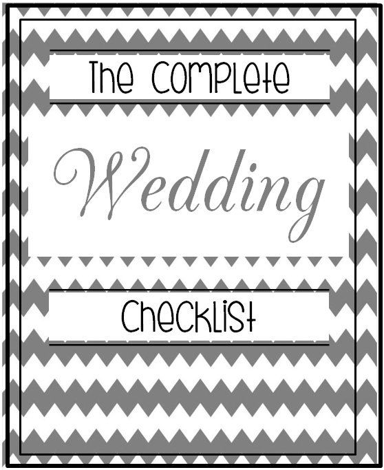 Ultimate Wedding Planner Black And White Elegant Over 55
