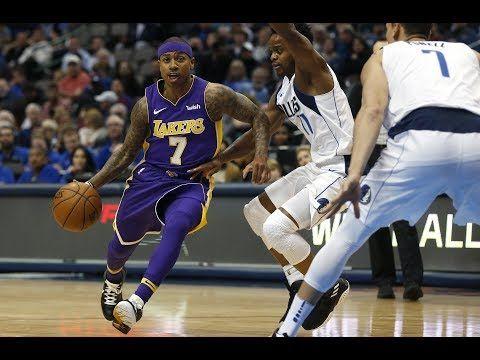 Isaiah Thomas Makes His Los Angeles Lakers Debut Youtube Los Angeles Lakers Isaiah Thomas Lakers