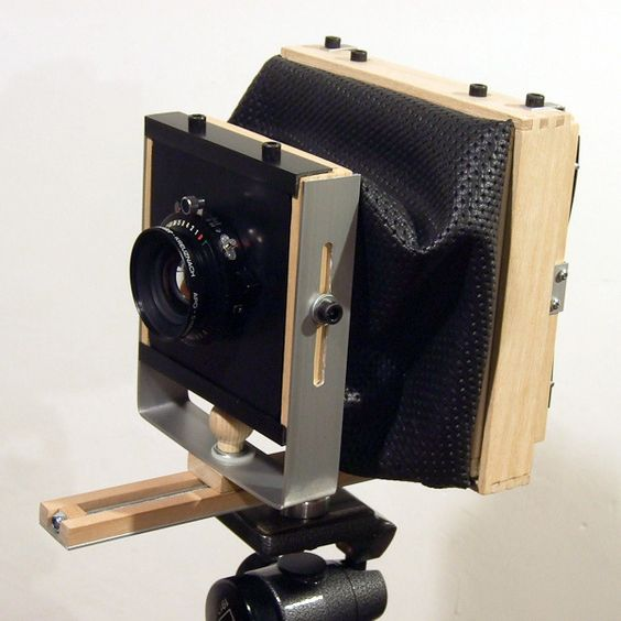 monorail camera 4x5 by EnzoCiminelli