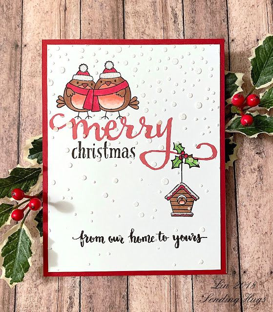 One More Time One Layer With Images Christmas Cards Handmade