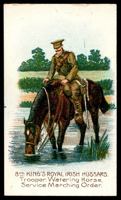 Cigarette Card - 8th King's Royal Irish Hussars