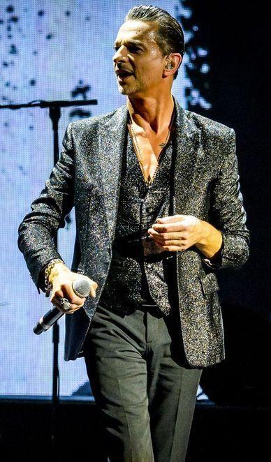 Dave Gahan of Depeche Mode - Delta Machine Tour