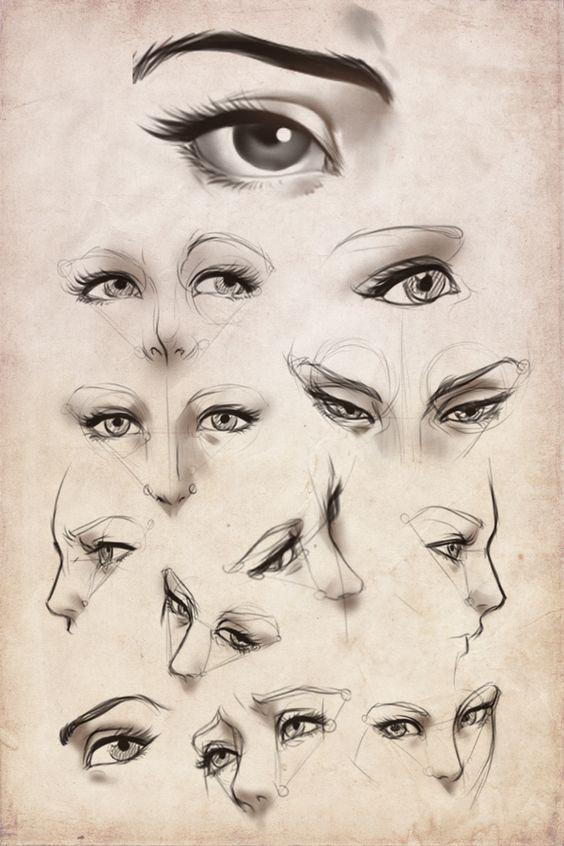 Practice: 'Female' eyes by Artipelago.deviantart.com on @deviantART