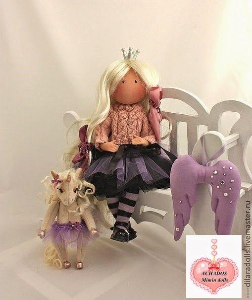 Mimin Dolls: molde boneca russa- modelo 2