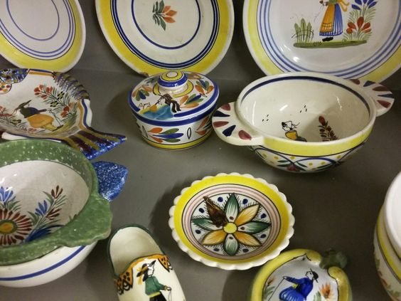 French kitchen pottery by Quimper at BourneEndAuctionRooms