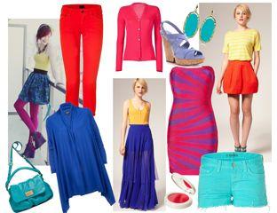 fashion tips wear neon