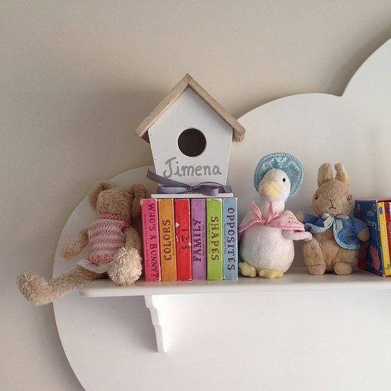 Casita de p jaros para decorar la habitaci n de los ni os - Decorar habitacion bebe nino ...