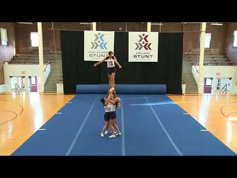 Partner Stunts Level 3 Youtube Cheer Stunts Cheerleading Stunt Cheer Routines