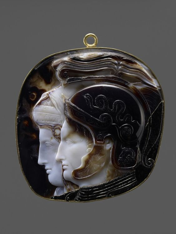 The+Vienna+Cameo+-+Greek+(Ptolemaic),+Early+Hellenistic+period,+278-270/69+B.C.