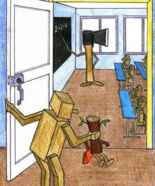 ... LA EDUCACIÓN BANCARIA Y OTROS DEMONIOS.
