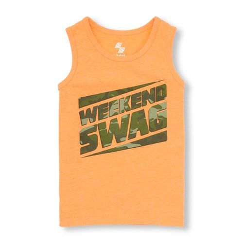 The Childrens Place Big Boys Tank Top