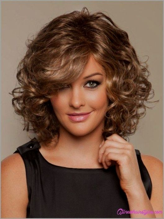 Cool Medium Length Curly Haircuts For Round Faces All New 20 Long Curly Hairstyles For Ro Medium Curly Hair Styles Short Curly Haircuts Medium Hair Styles