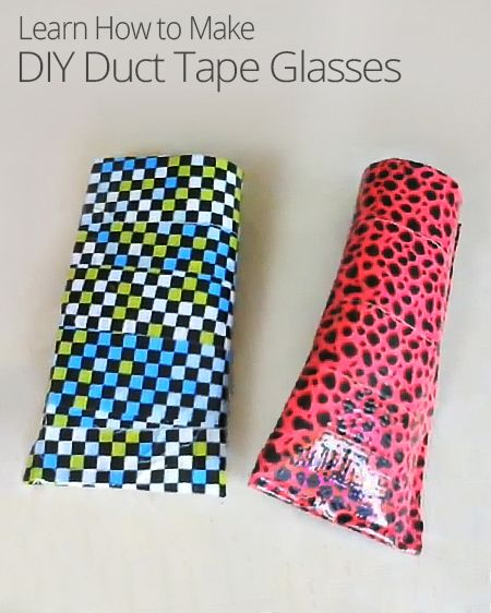 Are you continually losing or breaking your sunglasses? You need a customized duct tape glasses holder! This DIY lesson will show you how.