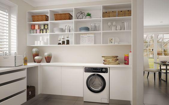 Laundry Room: