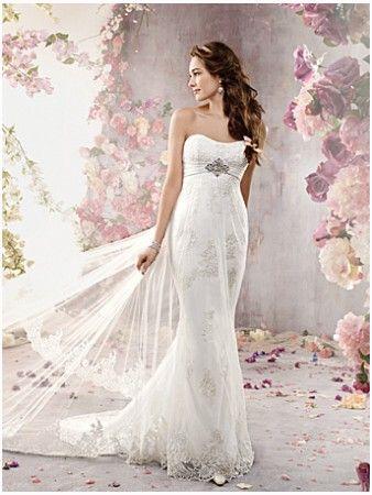 Alfred Angelo Wedding Dress 2378-324.80-Alfred Angelo Wedding Dress 2378