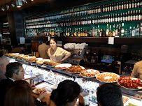Cerveceria Catalana  Kick Ass Tapas bar always packed with people  La Cervecería Catalana es todo un clásico de las tapas en el centro de Barcelona.  Sus dos barras están repletas de montaditos y tapas elaboradas con productos de primera calidad que podrás disfrutar ahí mismo o bien en el comedor. http://www.bcnrestaurantes.com/barcelona.asp?restaurante=cerveceria-catalana Carrer de Mallorca, 236