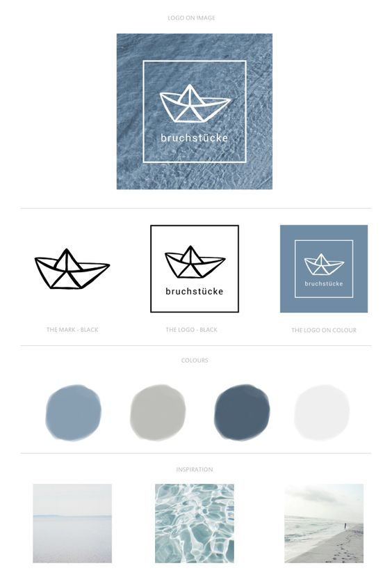 "Design Sheet ""bruchstuecke"" by FINDING FOXES"