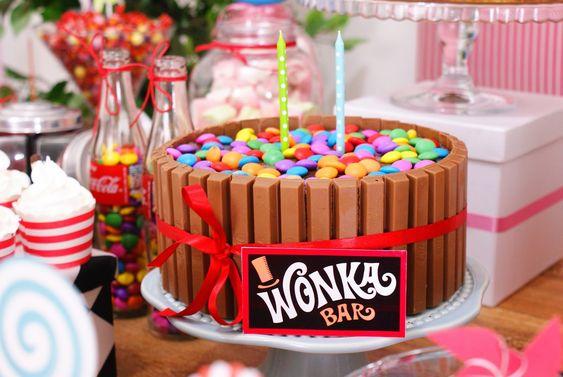 Doovale Eventos Sweets Aniversario A Fantastica Fabrica De